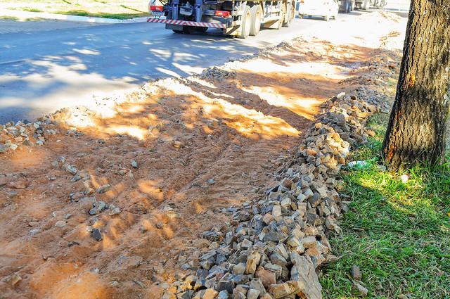 Calçadas do Lago Veredinha serão recuperadas
