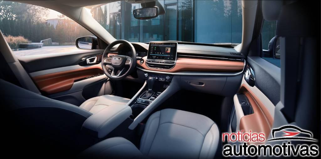Jeep Compass 2022 ganha facelift e mantém motor 2.4 nos EUA
