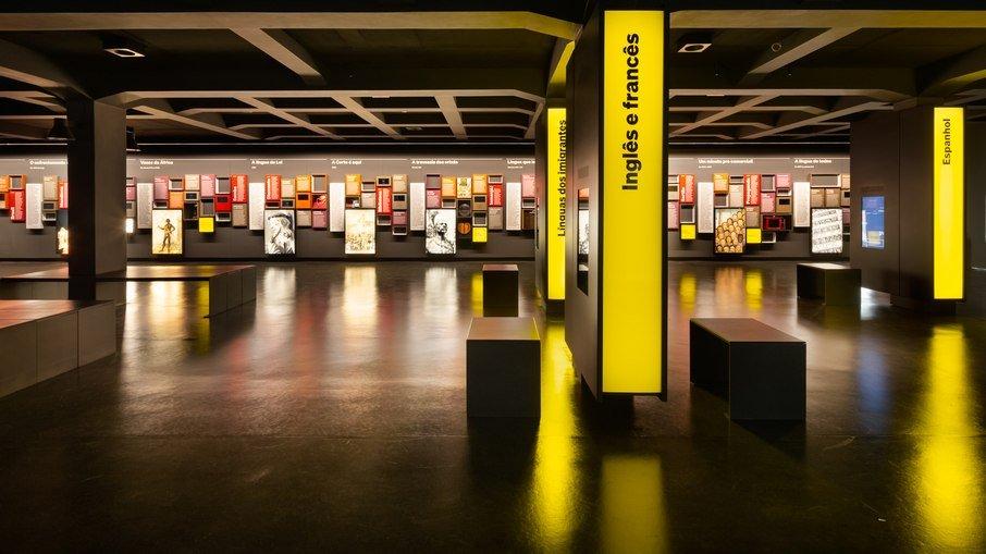O Museu da Língua Portuguesa teve seu conteúdo revisto e ampliado para a nova fase