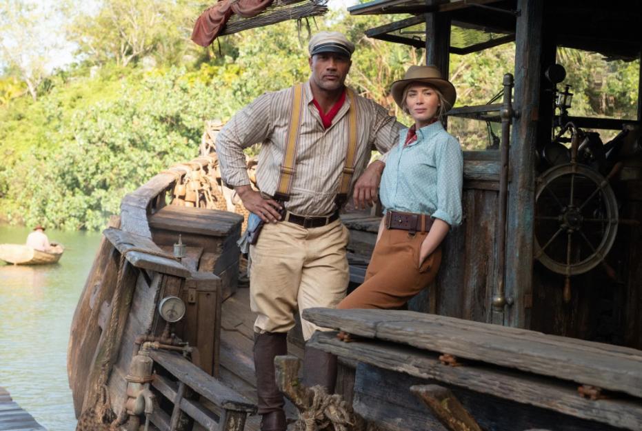 Adaptação de Jungle Cruise é estrelada por Dwayne Johson e Emily Blunt. Foto: Divulgação/Disney