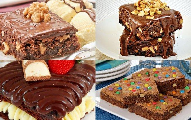 6 receitas de brownie para deixar seu dia mais gostoso