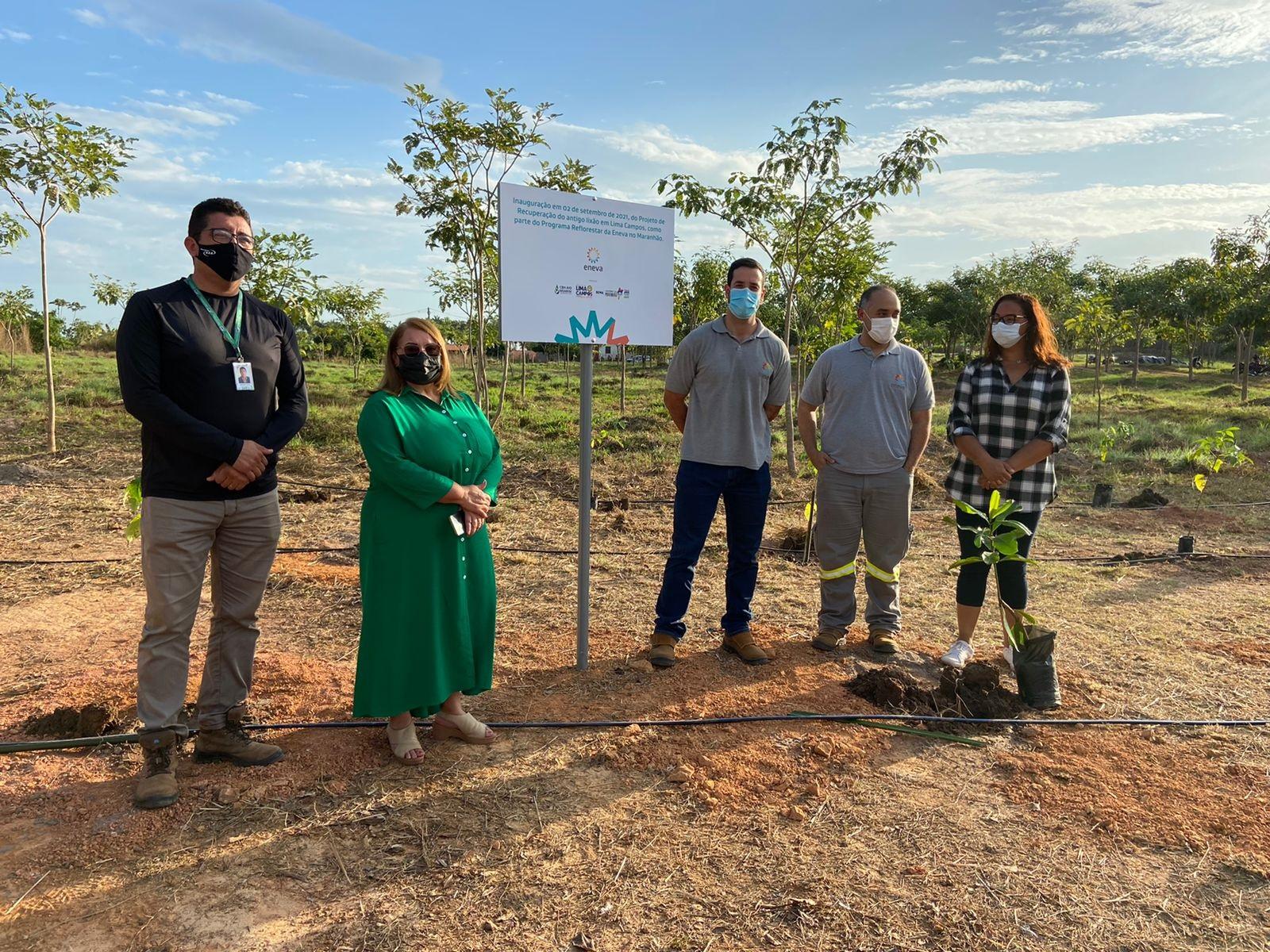 Lançamento do Programa Maranhão Contra o Fogo e do Programa Reflorestar, em Lima Campos (Foto: Kleo Souza)
