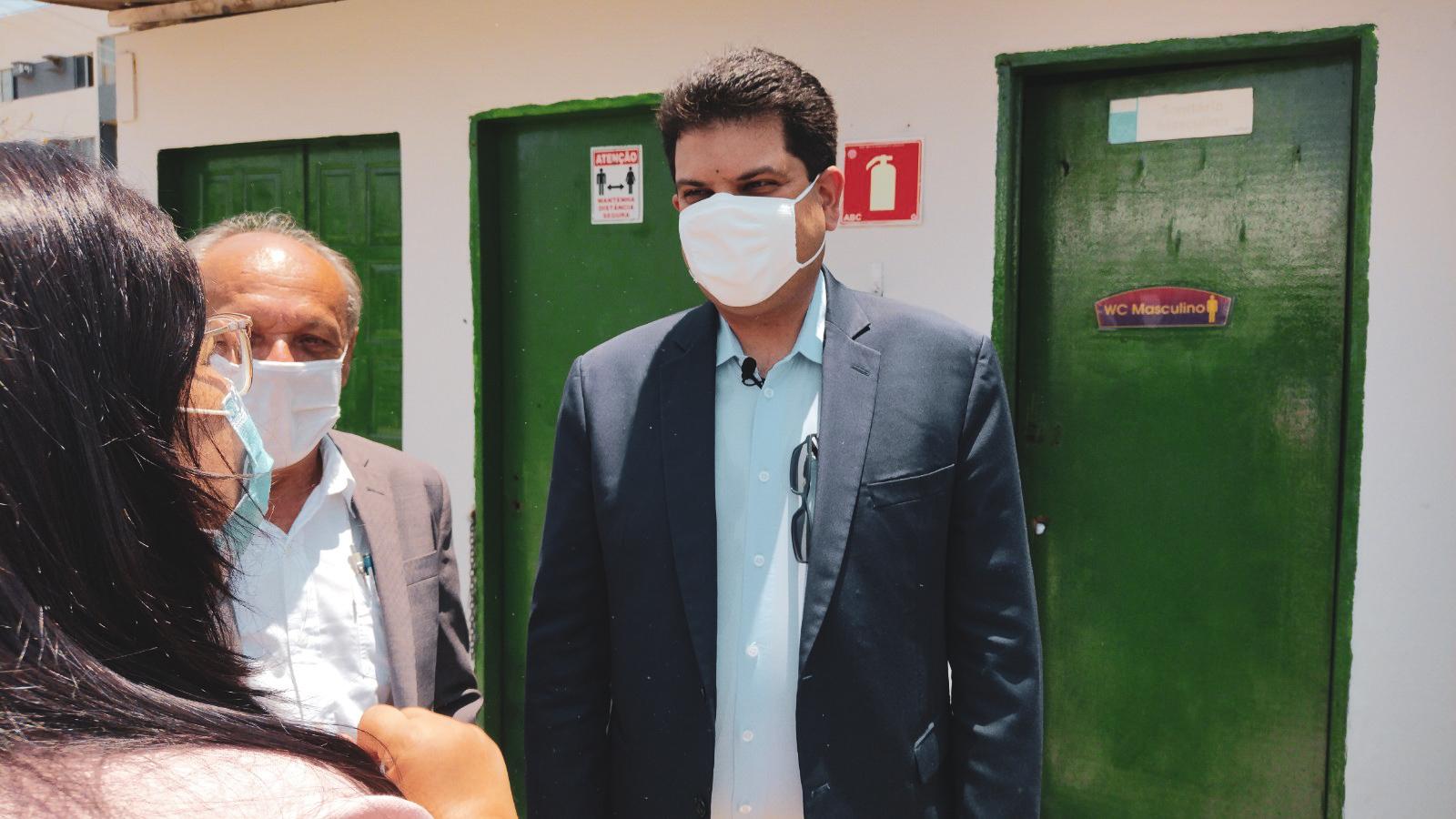 Secretário nacional da Qualidade Ambiental, André França. Foto: Ascom Sedet