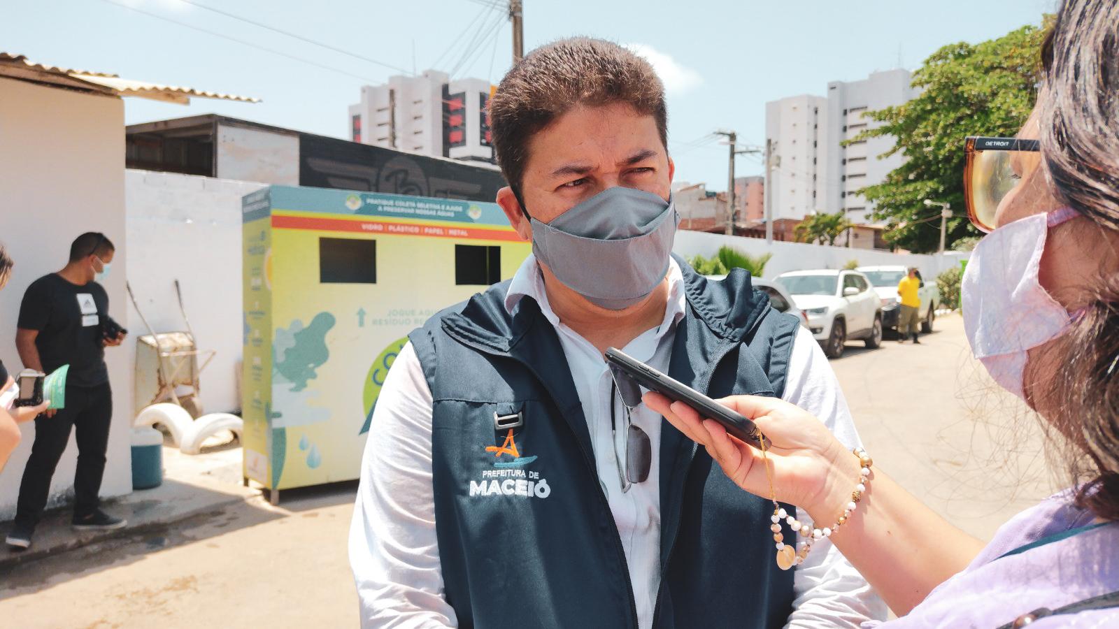 Secretário adjunto de Meio Ambiente da Sedet, Ismar Macário. Foto: Ascom Sedet