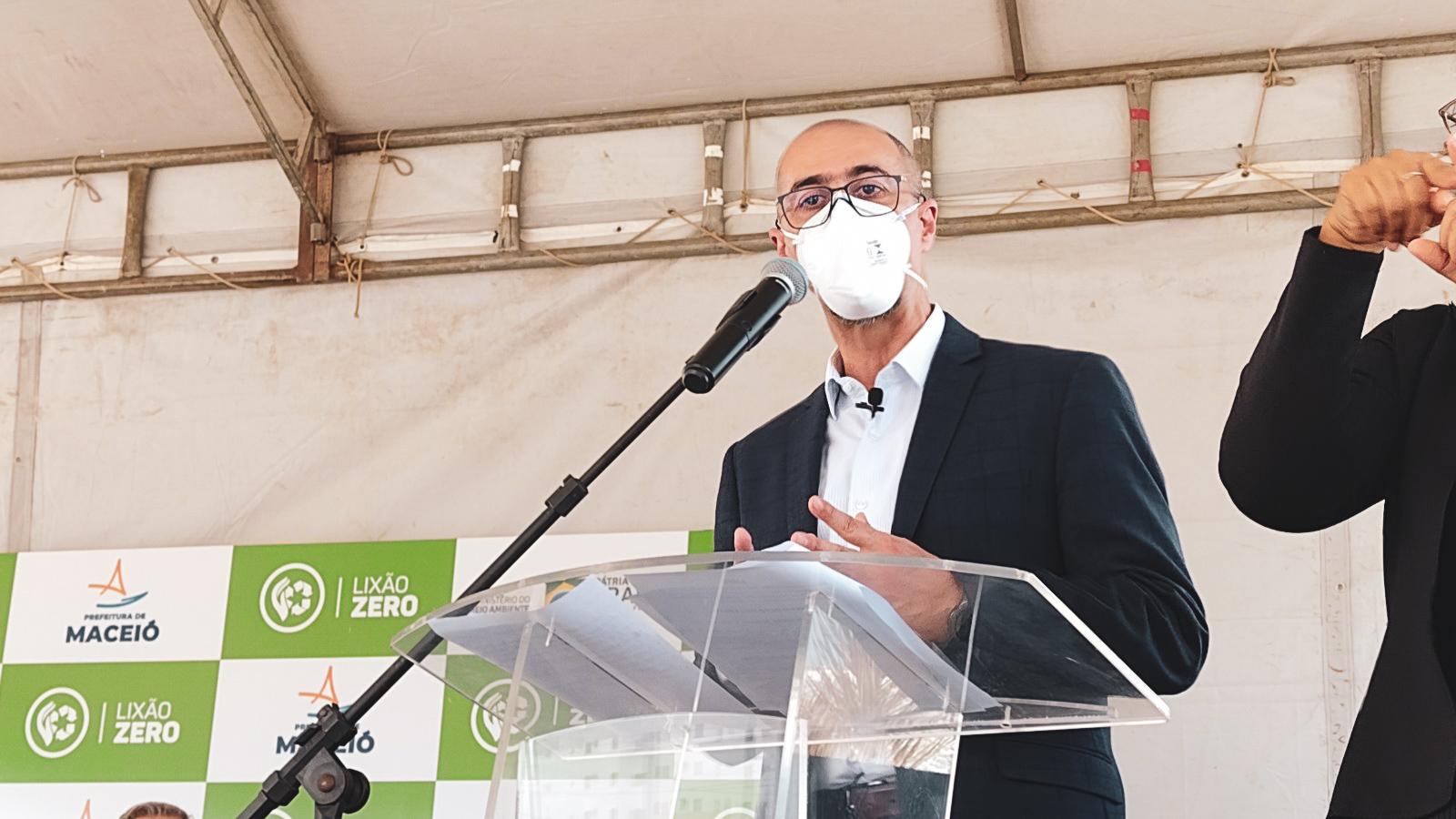 Presidente da Abree, Sérgio de Carvalho Maurício. Foto: Ascom Sedet