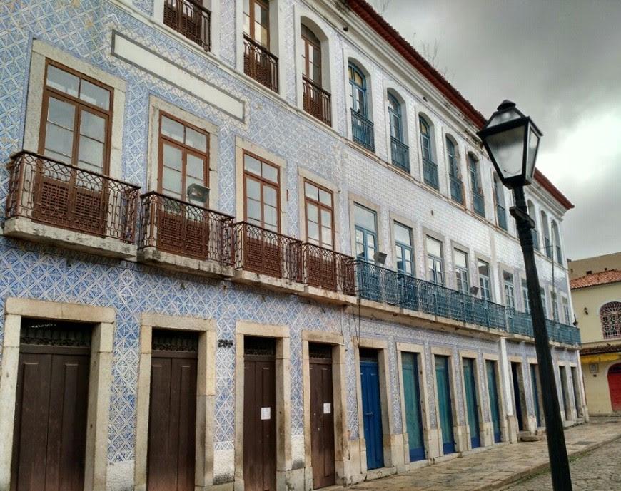 Rua Portugal, Centro Histórico de São Luís (Foto: Divulgação)