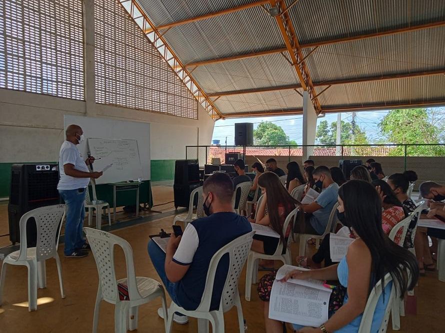 Aulões aconteceram em quadras, escolas e auditórios nos municípios (Foto: Divulgação)