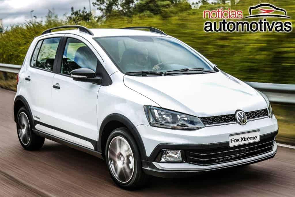 Último VW Fox sai da linha no Paraná, revelam imagens
