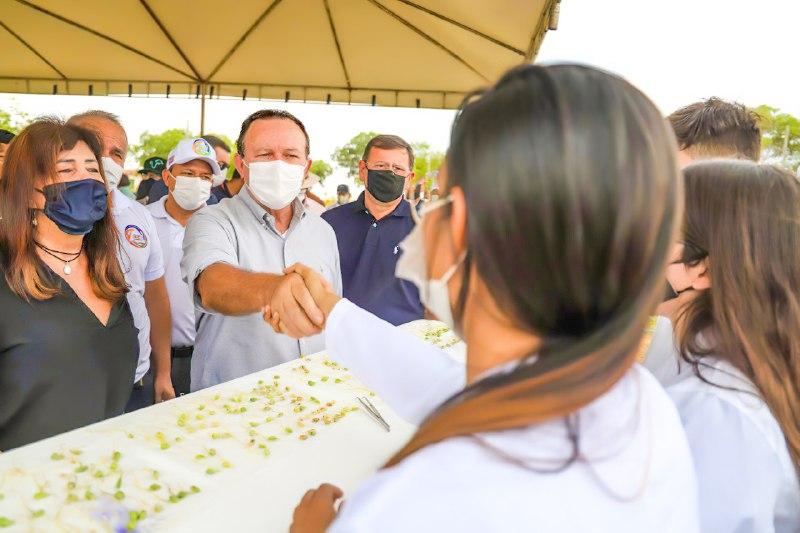 Diálogo com produtores da região (Foto: Luiz Paula)