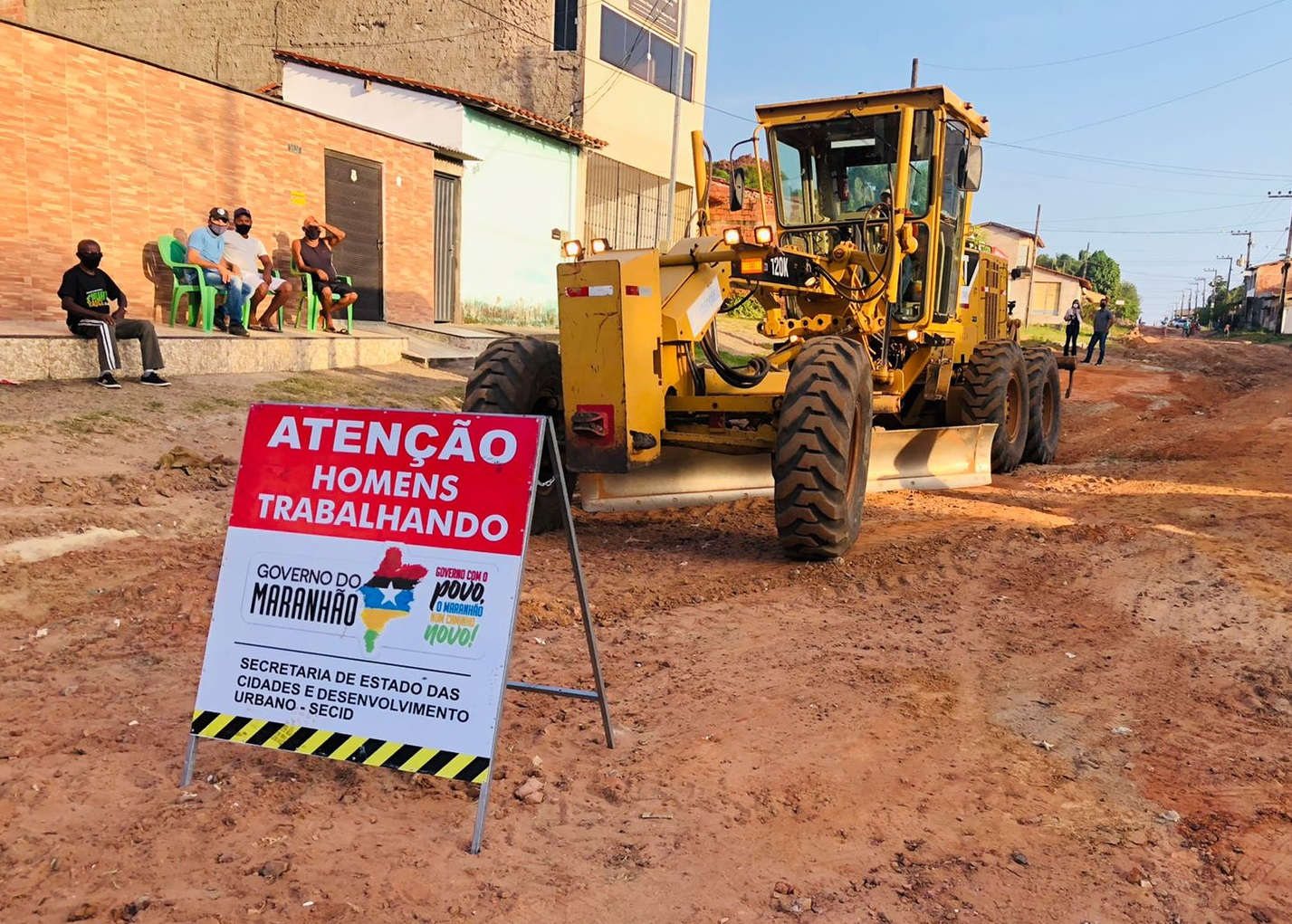 Avenida 2 interliga os municípios de Raposa e Paço do Lumiar (Foto: Divulgação)
