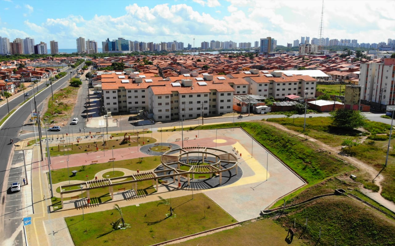 Residencial José Chagas, localizado na Avenida Ferreira Gullar, na Ilhinha (Foto: Divulgação)