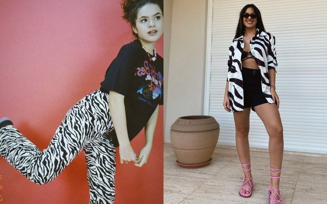 Saiba como compor looks com a estampa de zebra