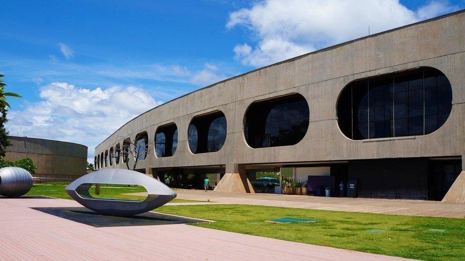 O CCBB de Brasília é sediado pelo Edifício Tancredo Neves