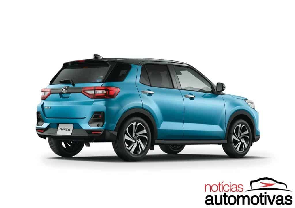 Toyota Raize vem para substituir Yaris, segundo jornal