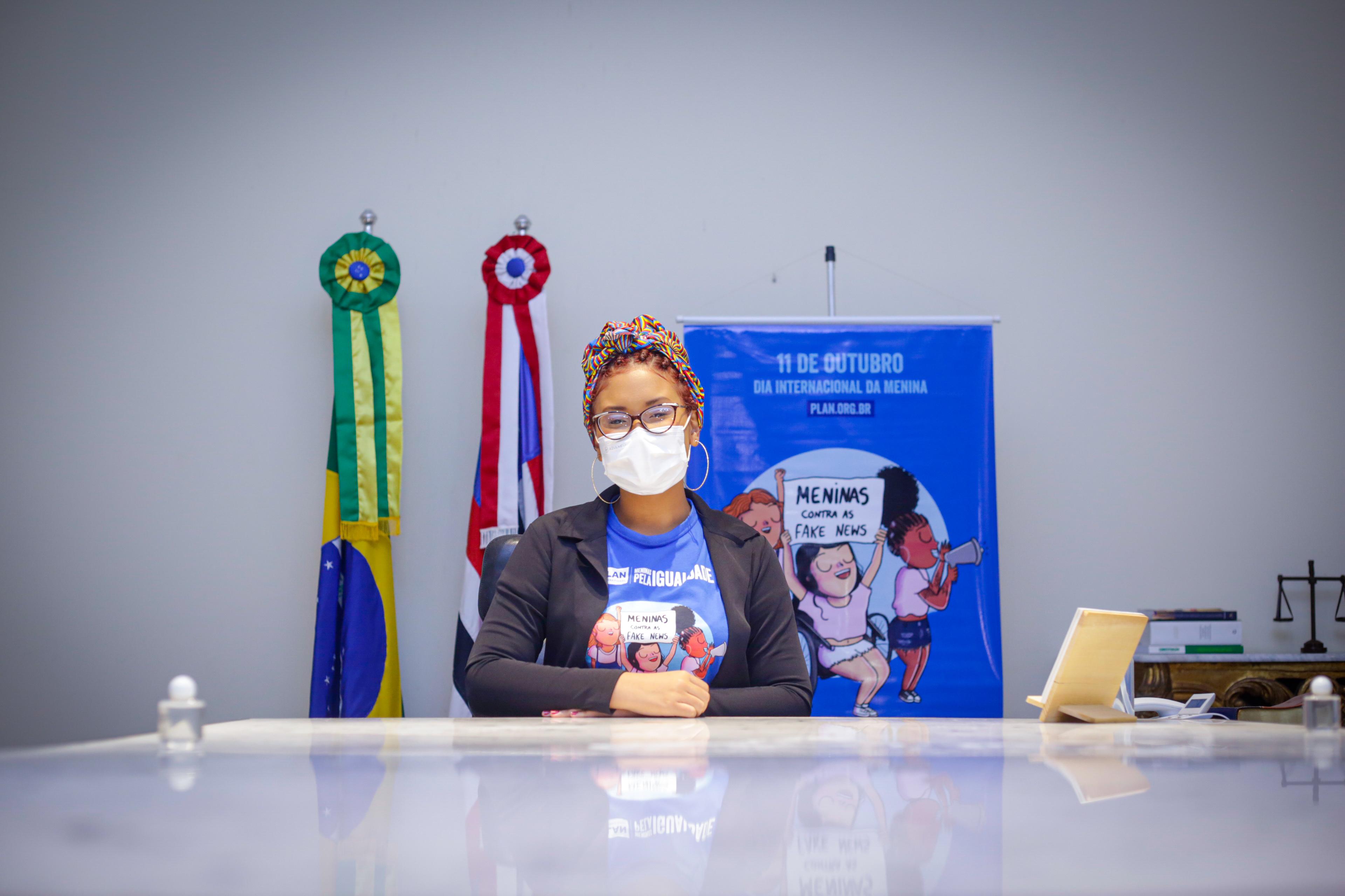 Governadora por um dia, Bia Diniz (Foto: Brunno Carvalho)