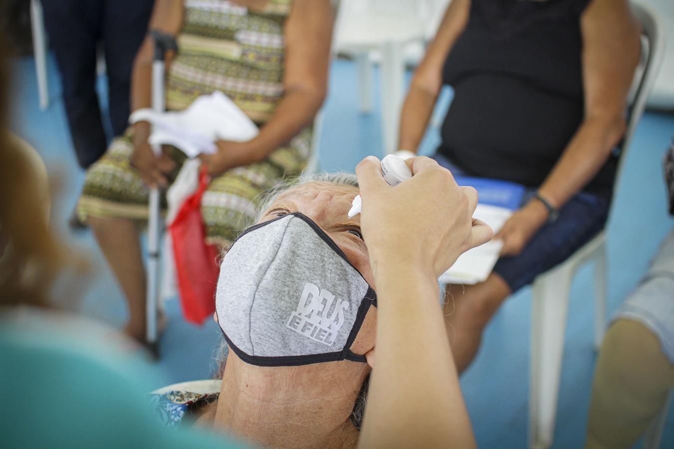 5ª edição do Saúde na Praça, no Parque João Paulo II, em São Luís, teve como foco os atendimentos oftalmológicos (Foto: Laécio Fontenele)