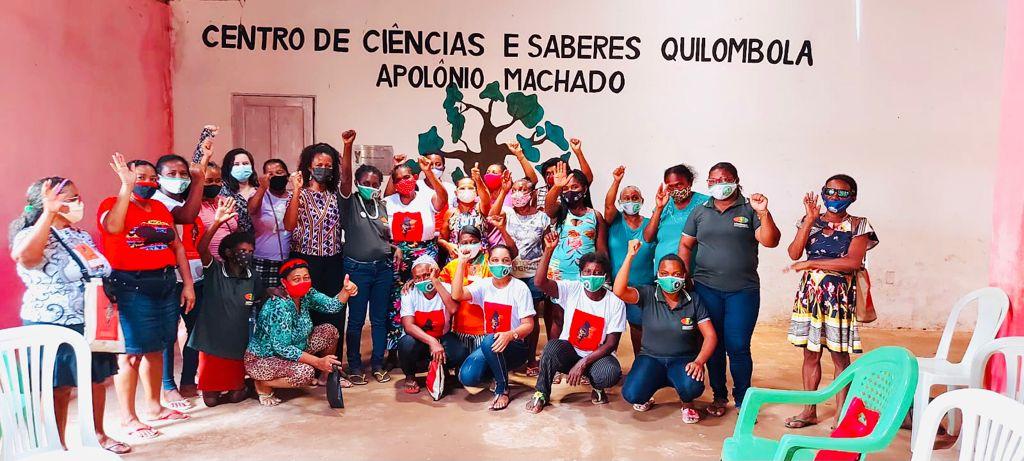 Participantes do projeto Direitos Humanos das Mulheres Indígenas e Quilombolas: Uma questão de governança (Foto: Divulgação)