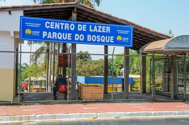 Uma Praça do Bosque reformada para a Candangolândia